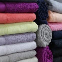 Limpieza de toallas