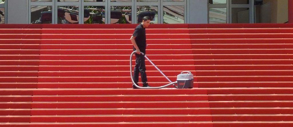 como limpiar alfombras en seco