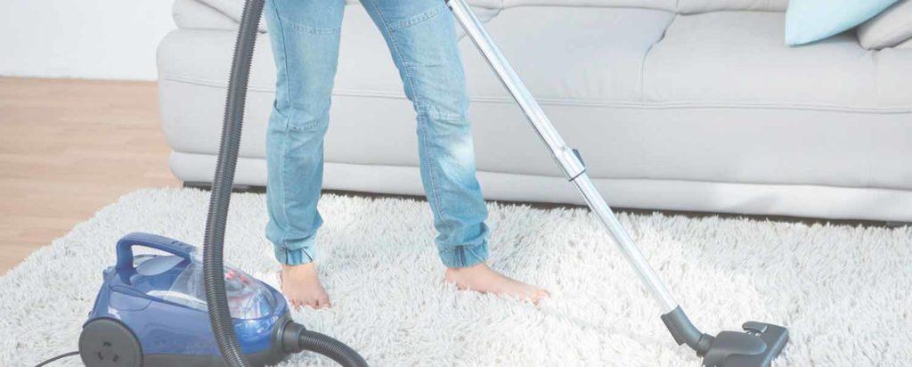 limpieza de alfombras, aspirado