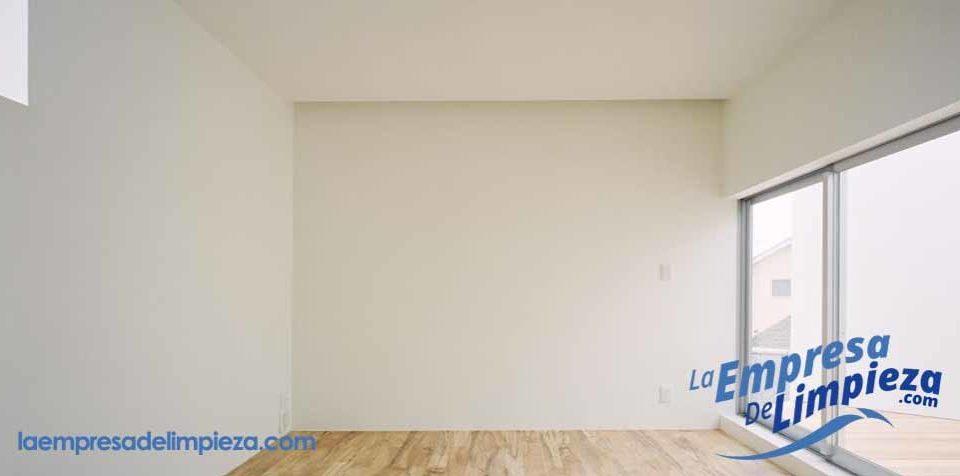 limpieza de paredes