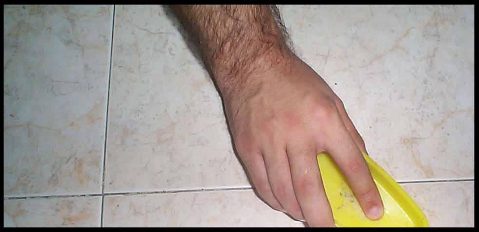 higienización de baldosas