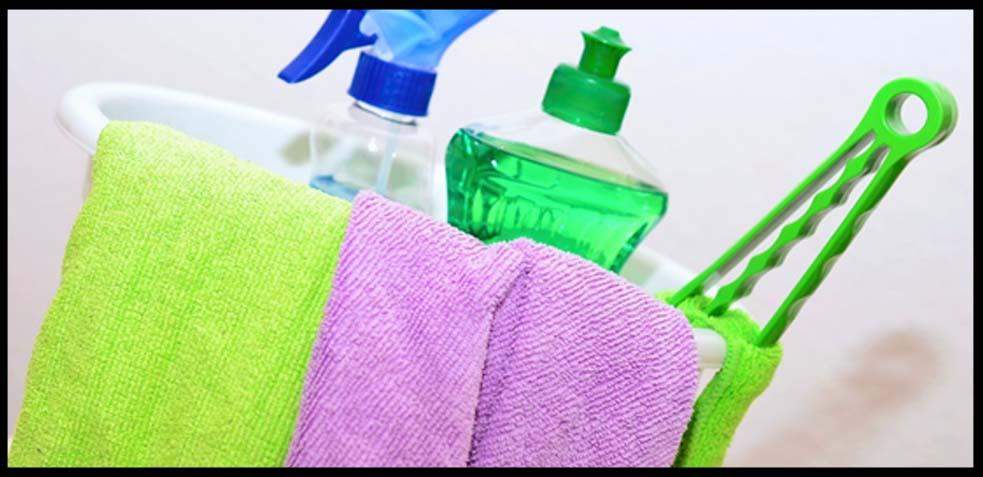 cómo se realiza de forma correcta la limpieza de superficies
