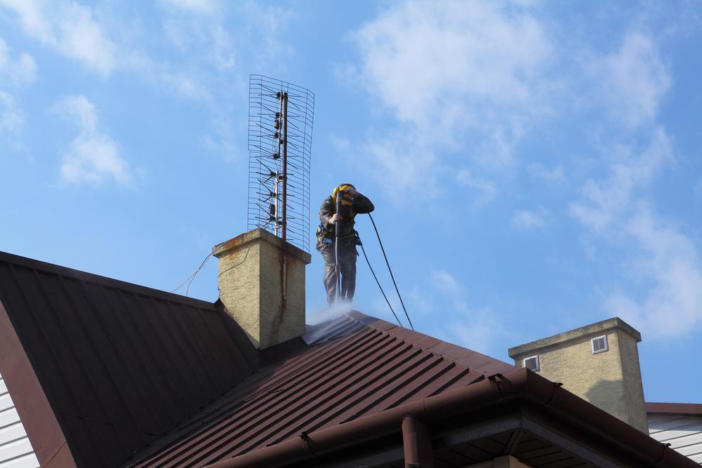 cómo limpiar el tejado