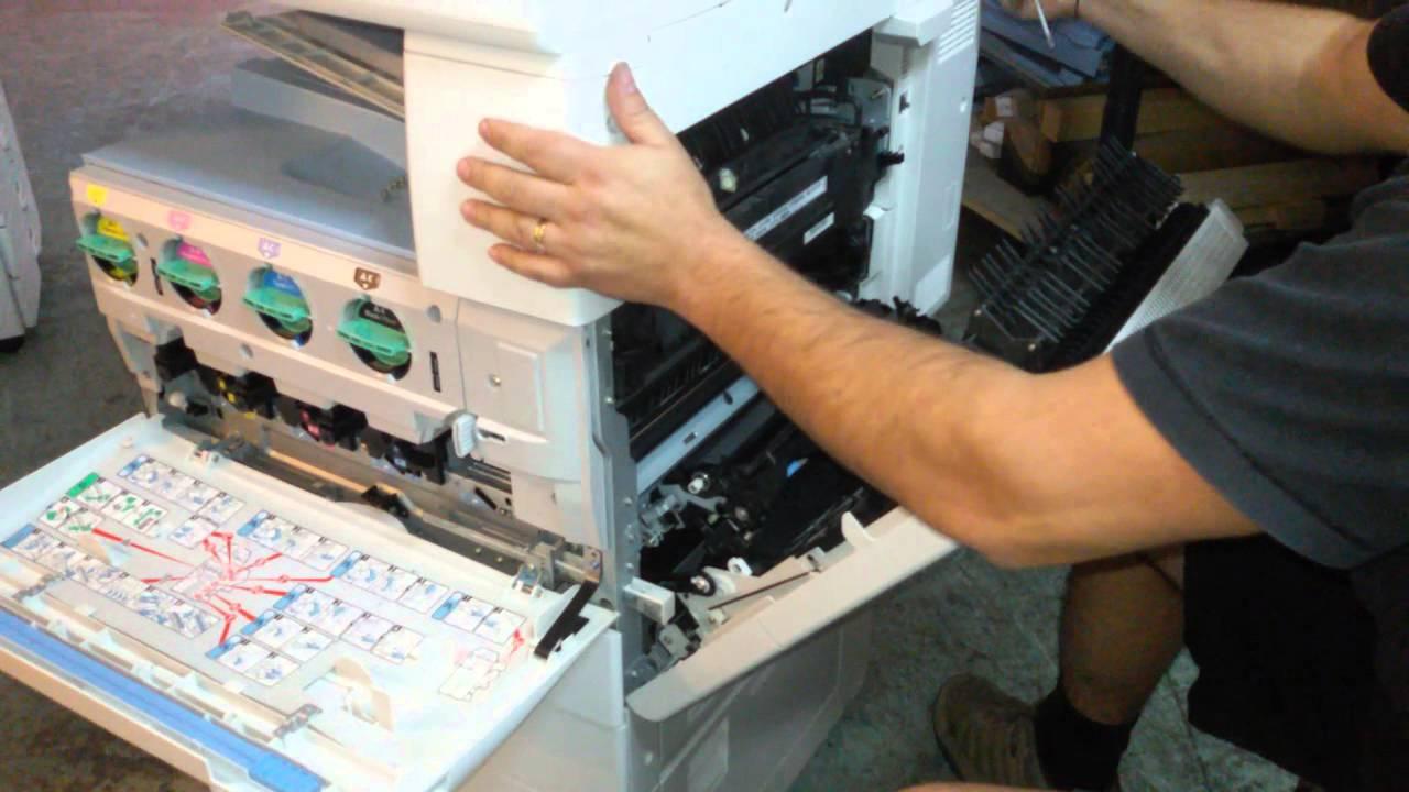 cómo limpiar una fotocopiadora
