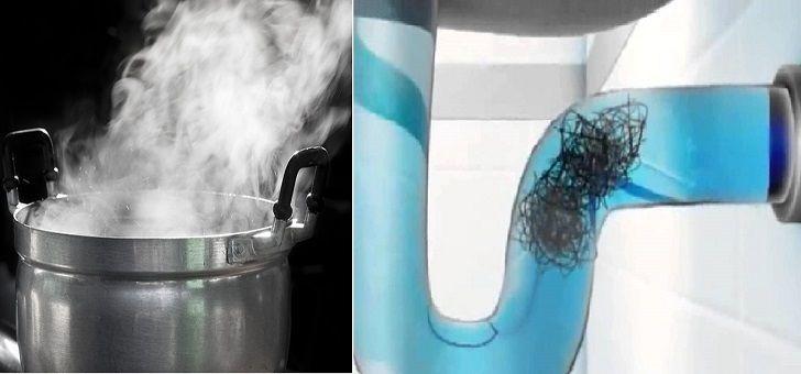 cómo desatascar tuberías