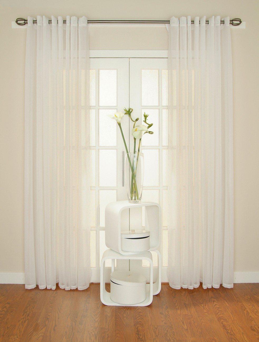 cómo limpiar cortinas blancas
