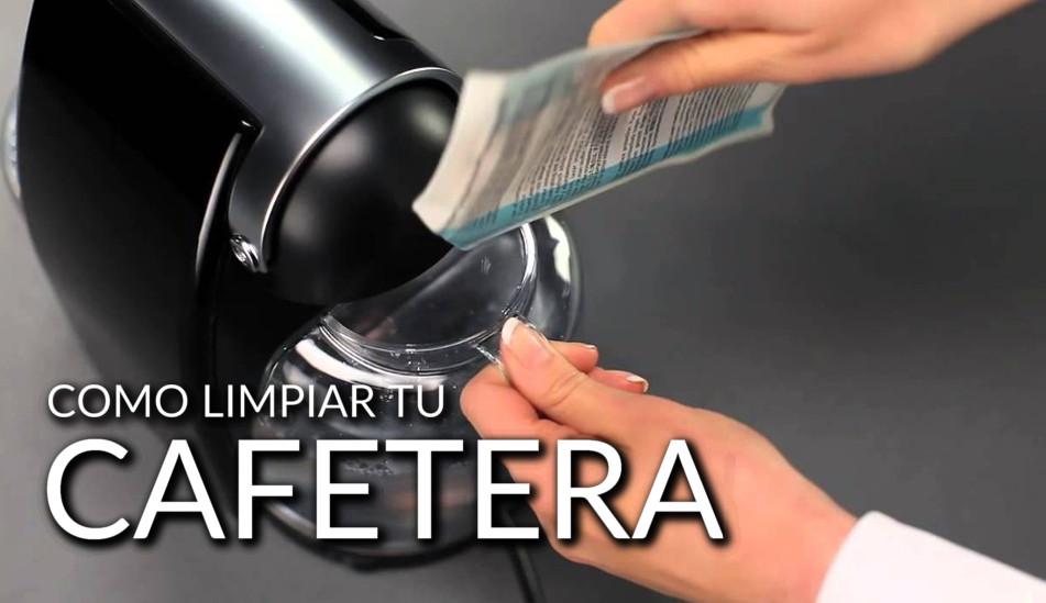 cómo limpiar una cafetera Dolce Gusto