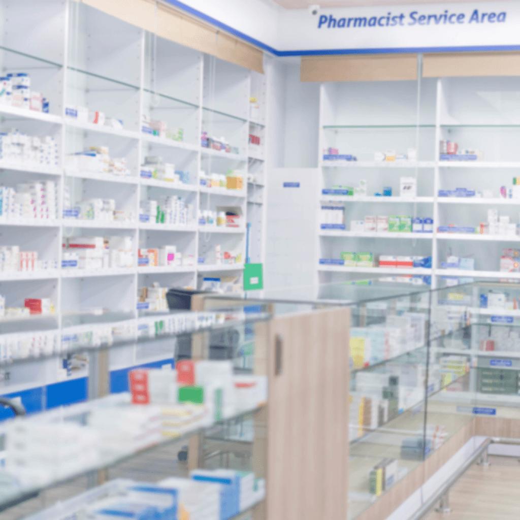 Limpieza de farmacias