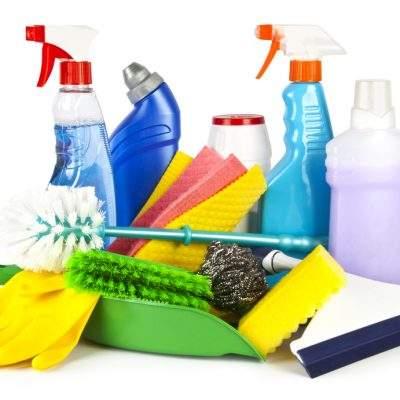 artículos varios de limpieza