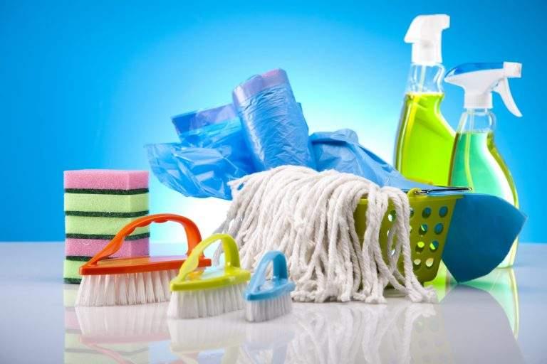 articulos utilizados para limpieza