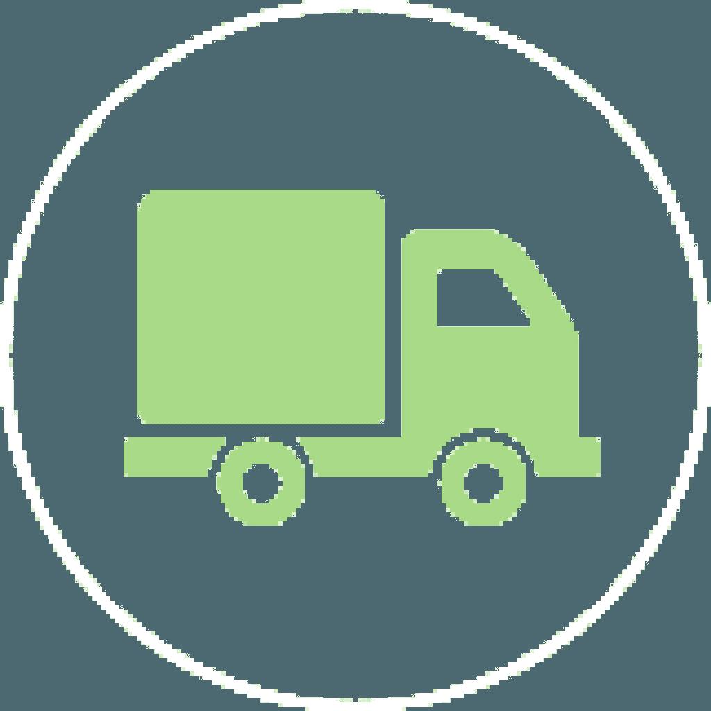 icono de camión verde