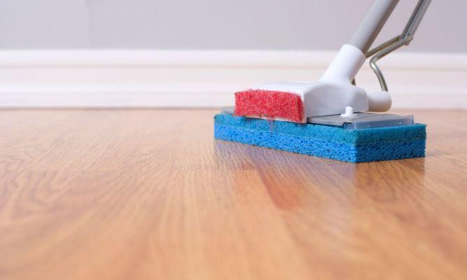 Limpiar suelos madera