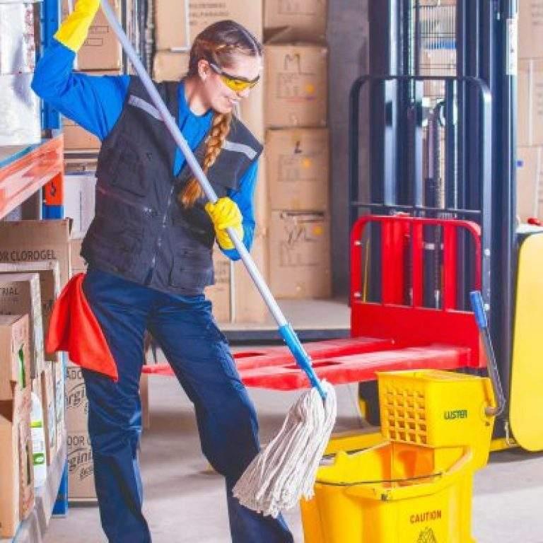 protocolo de limpieza en almacén