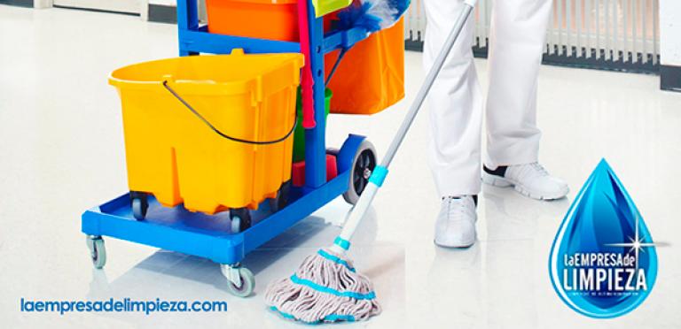 imagen de la empresa de limpieza