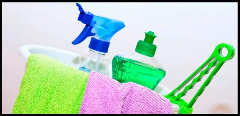 artículos para limpieza