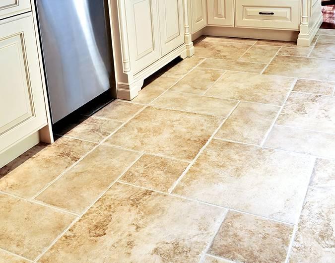 cómo limpiar pisos de cerámicas porosos