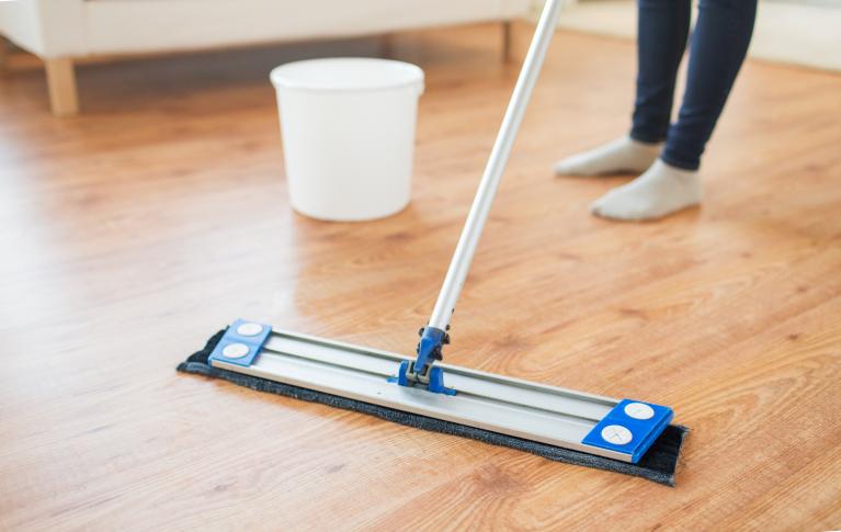 Cómo limpiar parquet