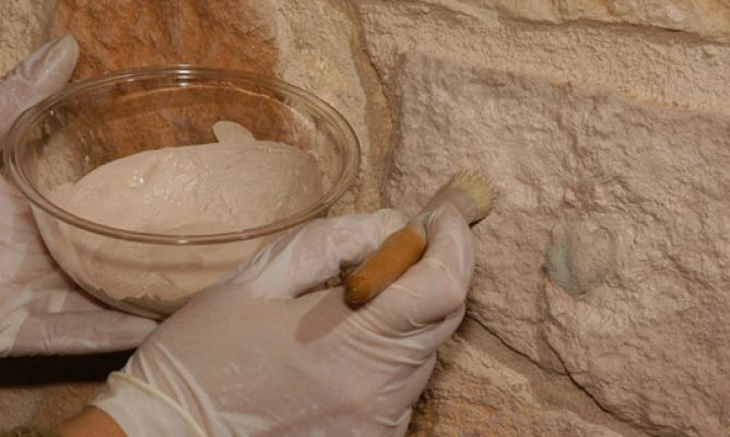 cómo limpiar piedra natural