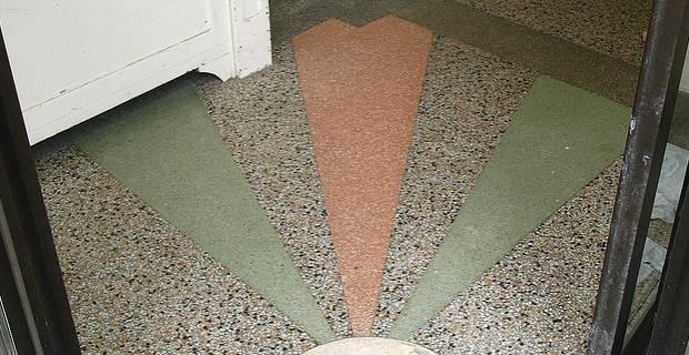 suelo de terrazo