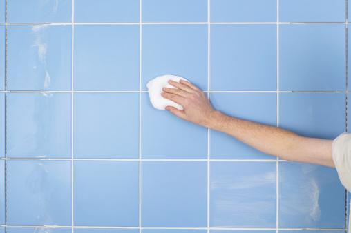limpiar azulejos baño tras obra