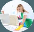 limpieza de escritorio