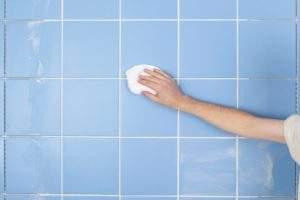 Cómo limpiar azulejos baño