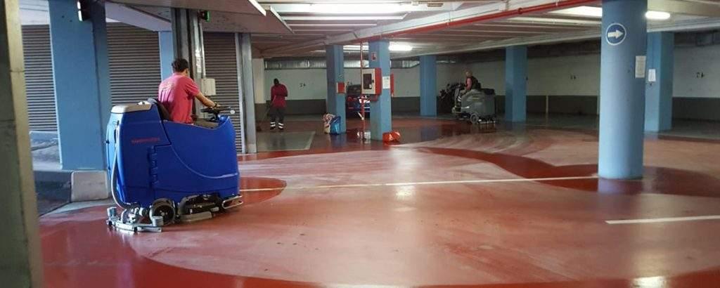 Limpieza de Garajes y Parkings en Colina