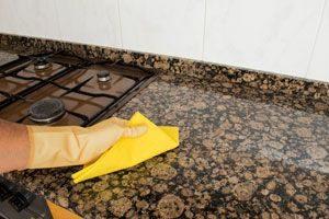 cómo limpiar piedra de granito sin pulir