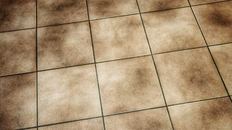 Limpiar juntas suelo cocina