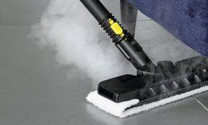 limpiar con vapor