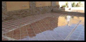 amoniaco para limpiar terraza