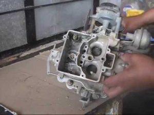Limpiar carburador