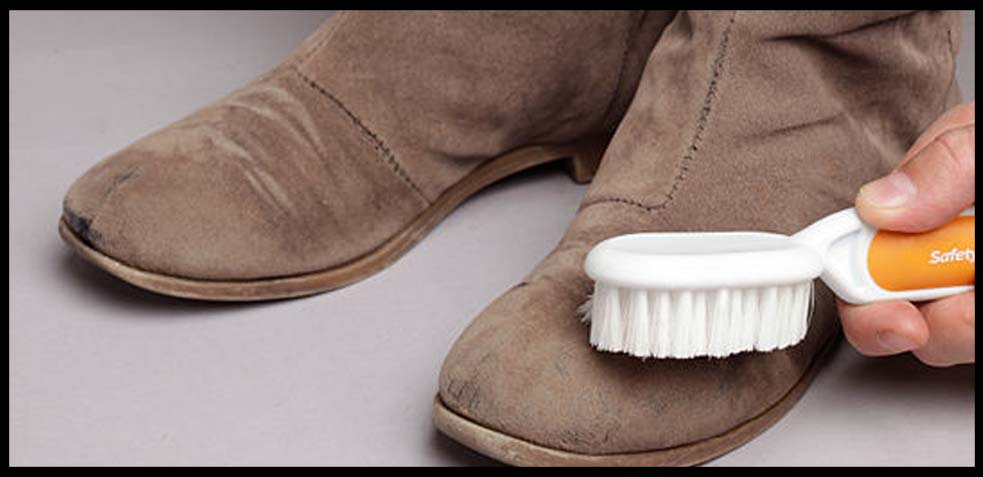 Cómo limpiar los zapatos de ante