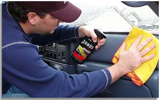 Productos para limpiar coche