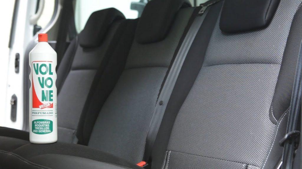 Cómo limpiar asientos coche