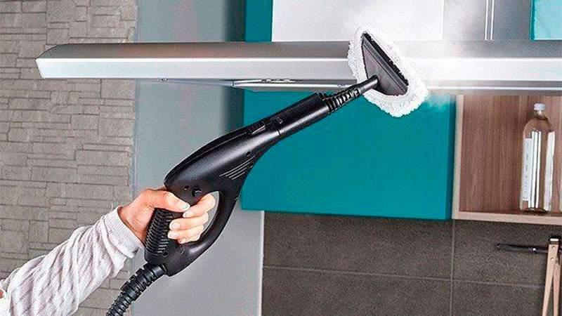 Cómo limpiar con vaporeta