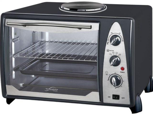 Cómo limpiar los hornos eléctricos
