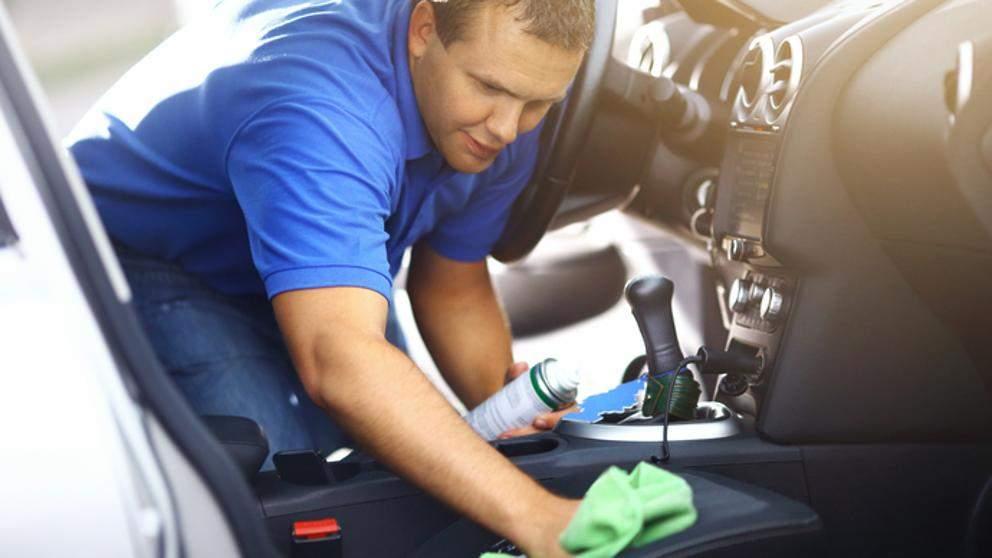 Cómo limpiar coche