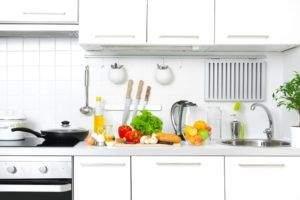 Cómo limpiar muebles de cocina