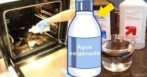 Desinfectar con agua oxigenada