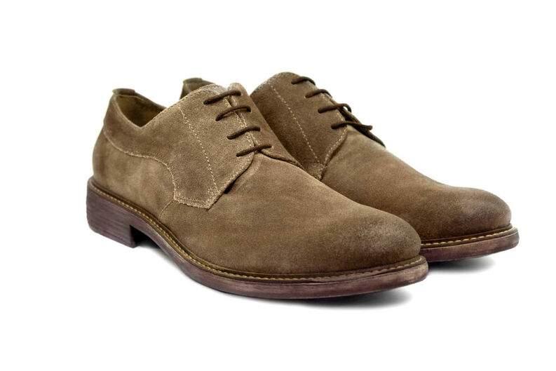 Limpieza de zapatos de gamuza