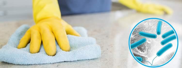 Limpiar y desinfectar