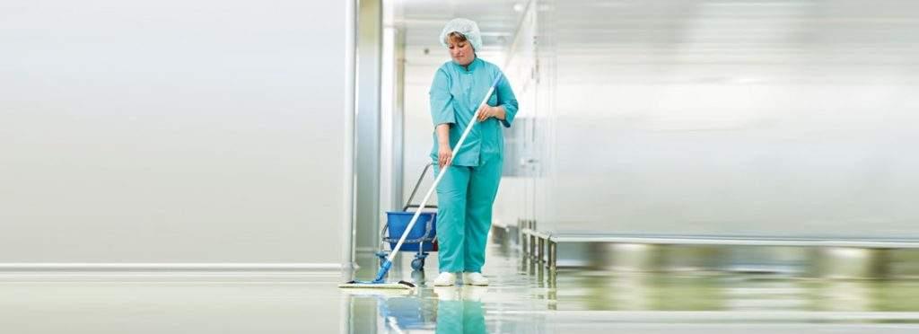 Limpieza hospitalaria