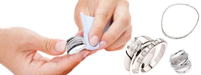 Cómo limpiar joyería de plata