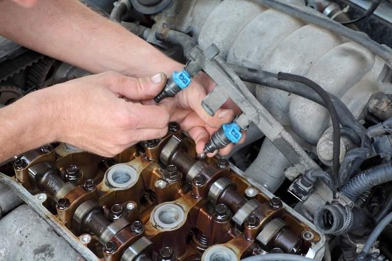 Limpiar inyectores de gasolina