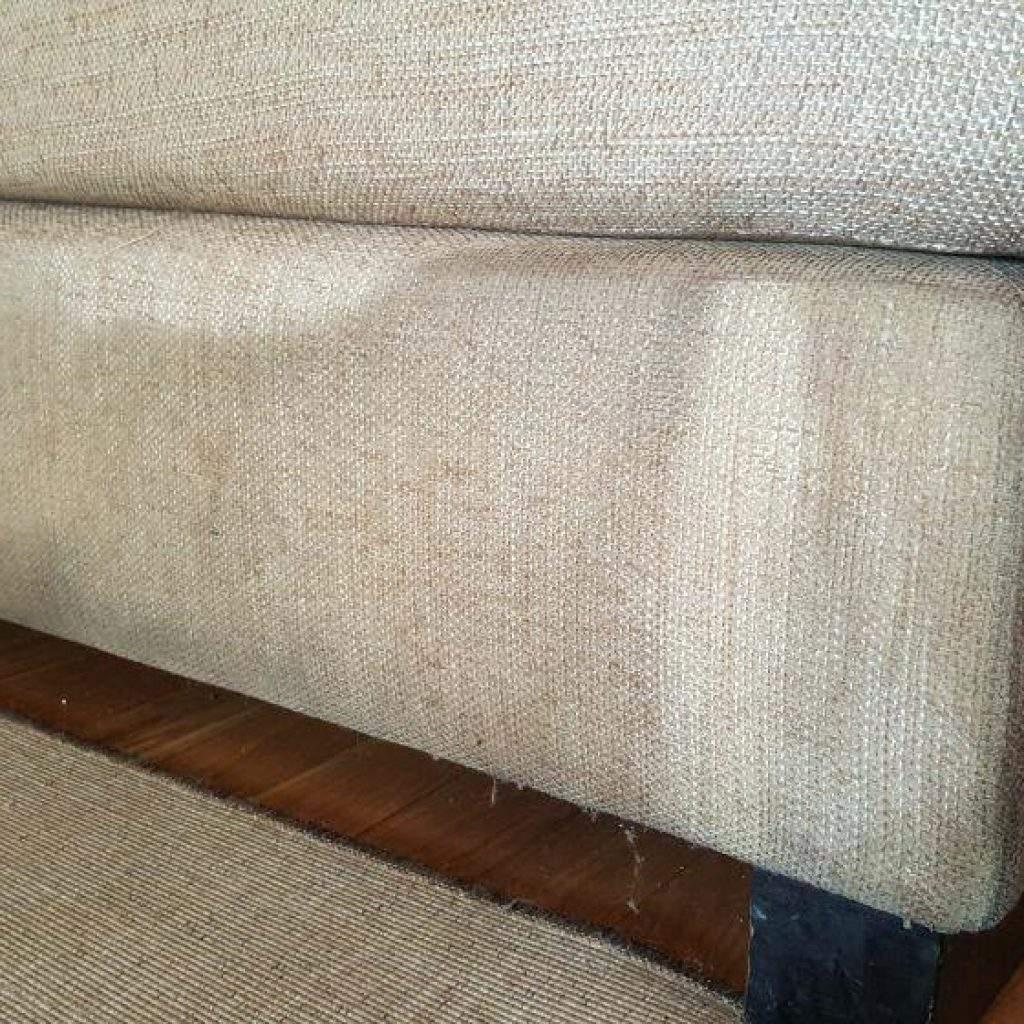Limpiar sofá de tela
