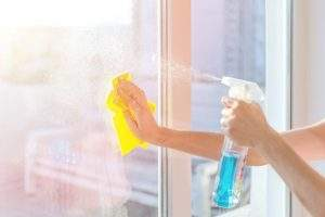Limpiar cristales profesional
