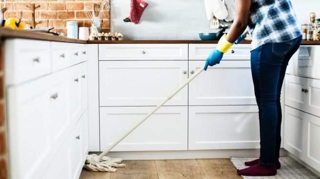Trabajo de limpieza en Madrid