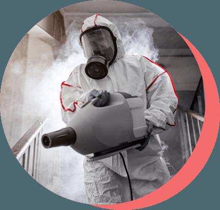 Limpieza con ozono contra Covid19