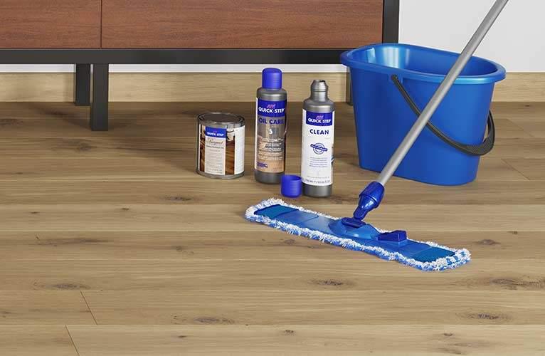 Limpieza suelo laminado